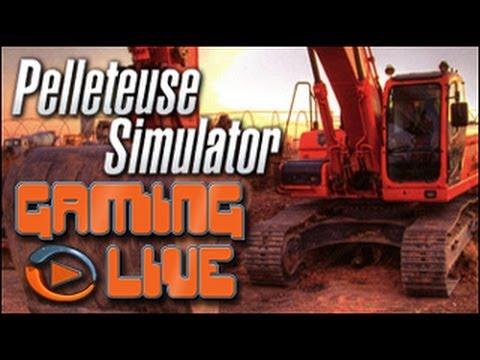 gaming live pc pelleteuse simulator youtube. Black Bedroom Furniture Sets. Home Design Ideas