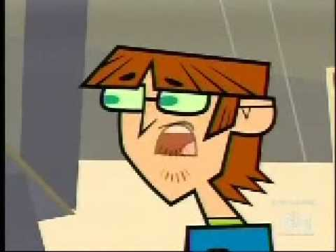 Harold white and nerdy total drama island