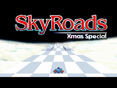 LGR - SkyRoads Xmas Special - DOS PC Game Review