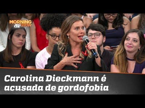 Carolina Dieckmann é acusada de gordofobia por comentários no Altas Horas