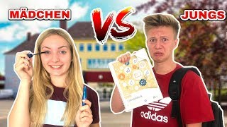 Mädchen vs Jungs - Back To School Morgenroutine📚