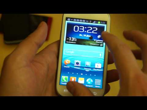 Видео: обзор Samsung Galaxy S3 mini i8190