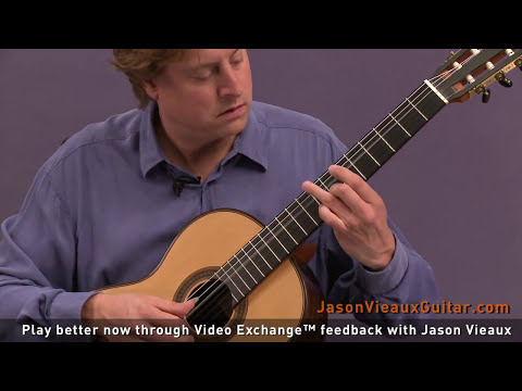 Classical Guitar Lesson: Jason Vieaux teaches
