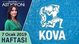 KOVA Burcu 7 Ocak 2019 HAFTALIK Burç Yorumları, Astrolog DEMET BALTACI
