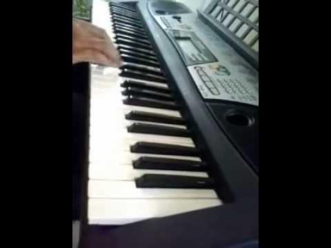 Kehdo Ke Tum Ho Meri - Tezaab song on keyboard by manojk