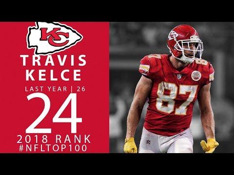 #24: Travis Kelce (TE, Chiefs) | Top 100 Players of 2018 | NFL