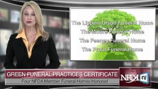 NFDA-TV 2011-01 Member Spotlight: Green Funeral Winners