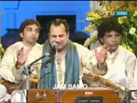 Ustad Rahat Fateh Ali Khan kalam Mirza Ghalib Koi Umeed Bar...