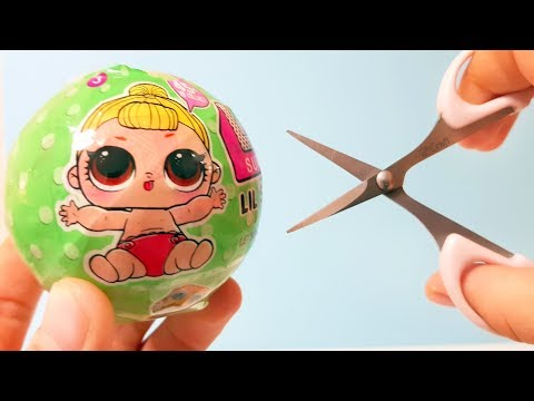ОТКРЫВАЮ ЛОЛ  НЕОБЫЧНЫМ СПОСОБОМ ! LIL sisters ПОДДЕЛКА !#Куклы ЛОЛ LOL Dolls LOL Dolls Surprise