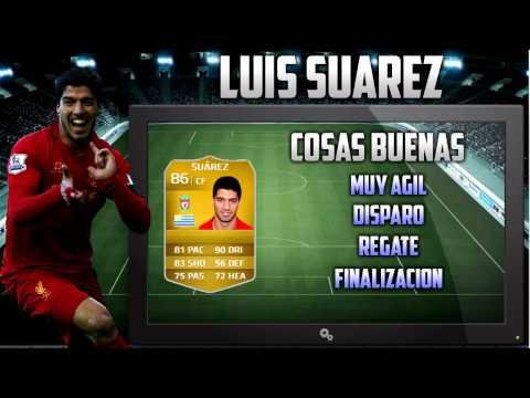 Review Luis Suarez - FIFA 14 Ultimate Team - Xbox One!