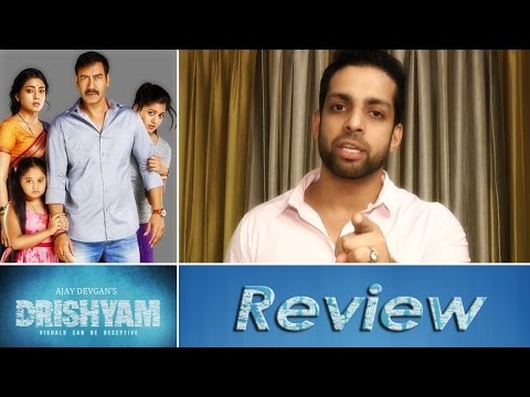 Drishyam Hindi Movie Review by Salil Acharya | Ajay Devgan, Shriya Saran, Tabu | Rating