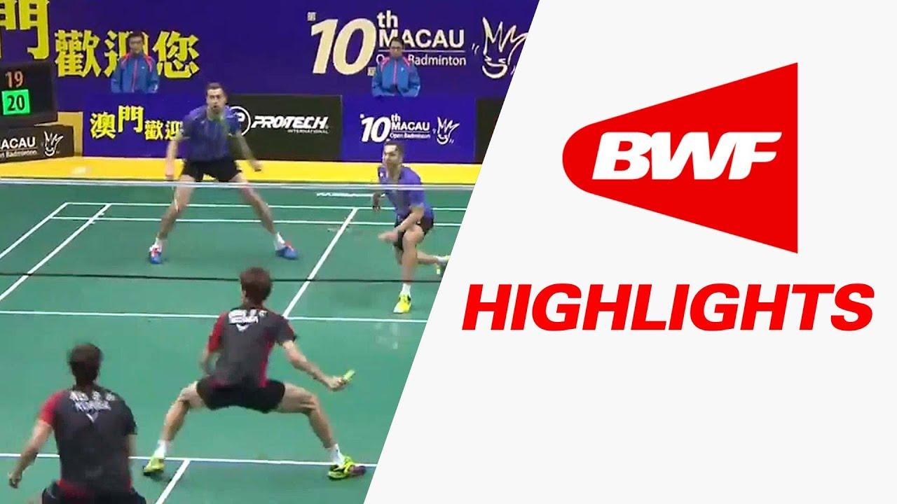 2015 Macau Open | Badminton SF – Highlights