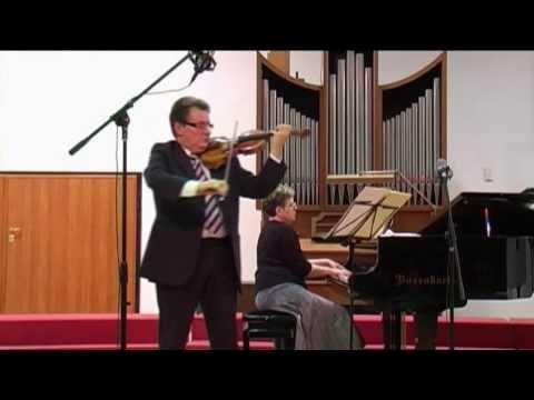 Brahms: Violin Sonata nº 2 (2° mov.) - Micho Dimitrov (violin) Violeta Popova (piano)