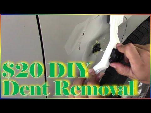 DIY $20 Car Dent Removal