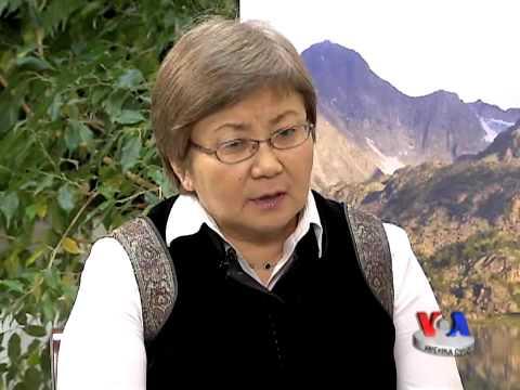 Roza Otunbayeva bilan suhbat, Amerika Ovozi/Roza Otunbayeva talks to VOA