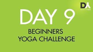 Йога челлендж для начинающих - День 9