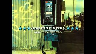 Watch One Man Army Last Word Spoken video