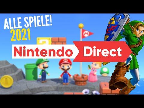 NINTENDO Direct 2021 in 13 MINUTEN! (ALLE neuen Spiele!)