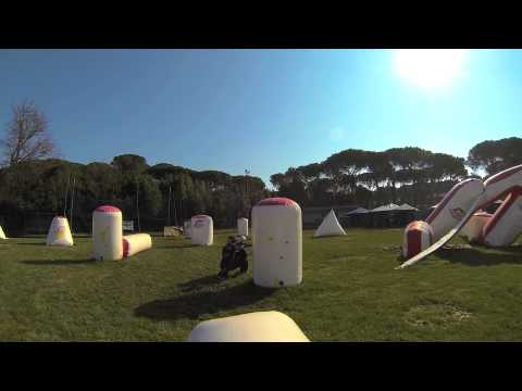 Allenamento paintball italian team gopro hero 3 black