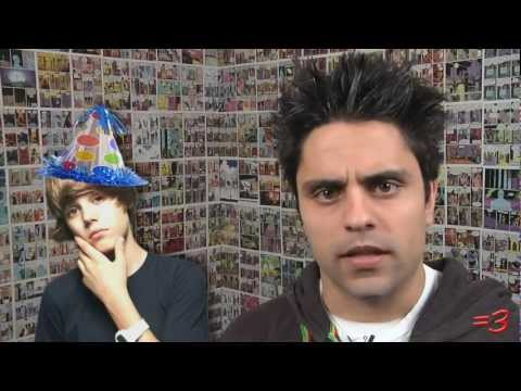 JUSTIN BIEBER'S BIRTHDAY! -Ray William Johnson video (RWJ On Helium)
