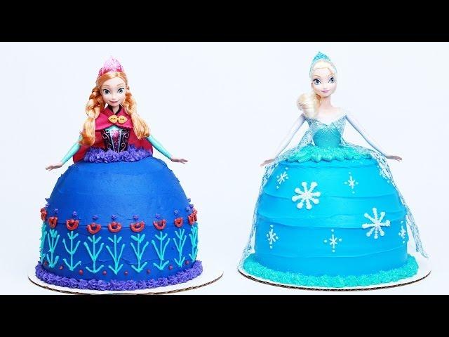 Nerdy Nummies Frozen Cake