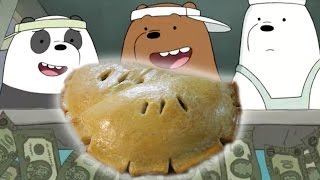 How to Make CALZONES from We Bare Bears! Feast of Fiction S4 Ep27