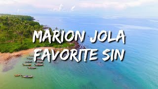 Download lagu Marion Jola - Favorite Sin (Lyrics)