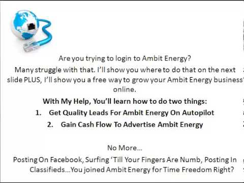 Ambit Energy Login Ambit Energy Powerzone Login Youtube