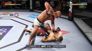 Donald Cerrone vs Khabib Nurmagomedov Online Match  EA SPORTS™ UFC® 3