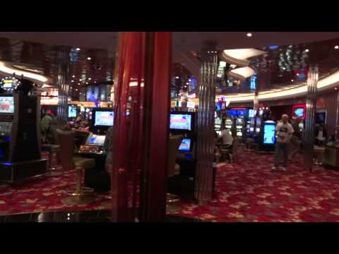 Royal Caribbean Allure of the Seas Cruise Ship Casino Royale Tour