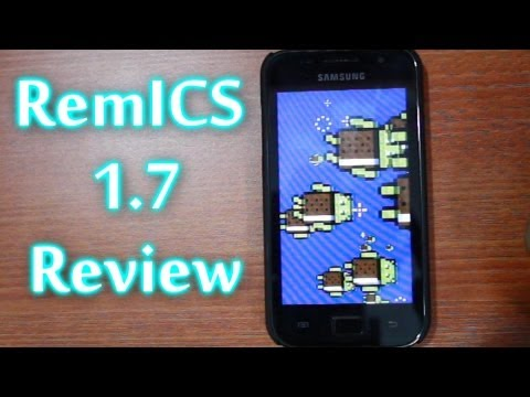 RemICS 1.7 (S3 look) - Samsung Galaxy SL i9003