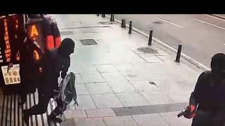 İstanbul'daki Soygun dehşeti saniye saniye kamerada