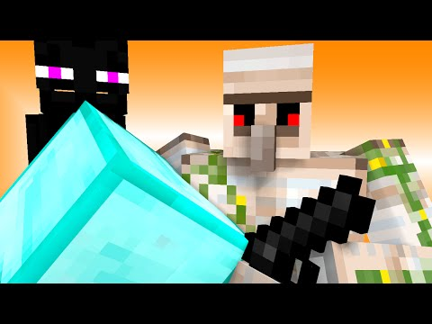 Monster School: Kids Mobs - Stealing (Minecraft Animation)