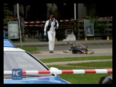 Man on stabbing spree in Munich