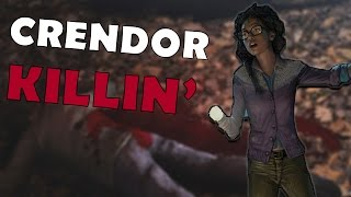 HUNTED BY CRENDOR. AGAIN. | Dead by Daylight BETA Gameplay