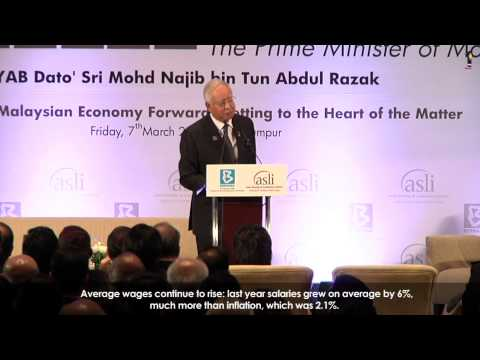 Najib Razak : National Economic Summit #5
