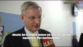 Att sätta dit Carl Bildt är inget för nybörjare (textad)