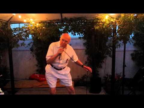 John Hetlinger karaoke at The Glenn 80 yr old man sings Drowning Pool