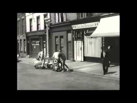 Lambretta Fun Scenes From ''FerryCross The Mersey''