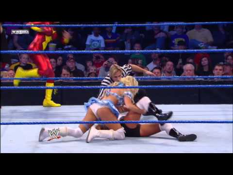 Kelly Kelly, Melina & The Bella Twins vs. Team Lay-Cool, Rosa Mendes & Alicia Fox: SmackDown, Octobe