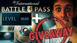 LVL 1000 BATTLE PASS TI7 + GIVEAWAY DOTA 2 !!