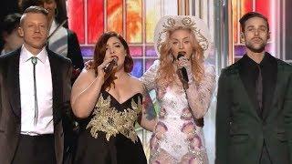 Madonna Video - Grammy Rehearsal: Macklemore & Ryan Lewis, Madonna, Mary Lambert - Same Love, Open Your Heart