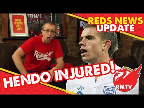 Jordan Henderson injured on England duty | LFC News Update