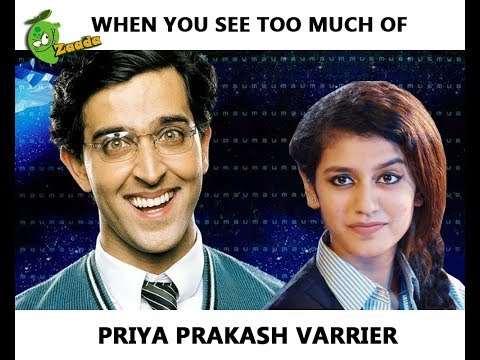 When You See Too Much of Priya Prakash Varrier's Viral Videos - Funny Koi Mill Gaya Video