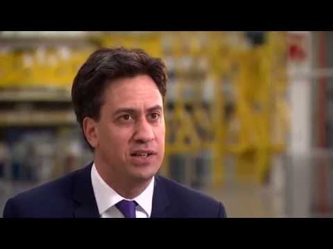 Ed Miliband tells 5 News: A vote on the EU is not a priority