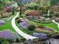 Beautiful Butchart gardens