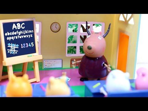 Свинка Пеппа. Мультфильм с игрушками. Детектив Пеппа.
