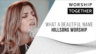 Download Lagu What A Beautiful Name // Hillsong Worship // New Song Cafe Gratis STAFABAND