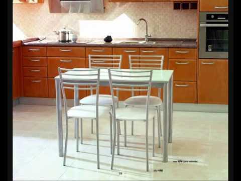 10 mesas y sillas cocina www.mueblessalvany.es.wmv