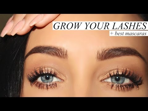GROW YOUR LASHES + BEST MASCARAS   Stephanie Ledda